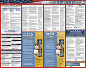 Federal Labor Law Poster - Bilingual