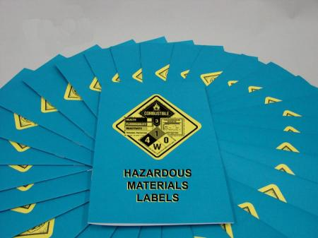 Hazardous Materials Labels Booklet - Marcom