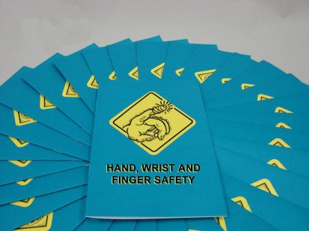 Hand, Wrist and Finger Safety Booklet - Marcom