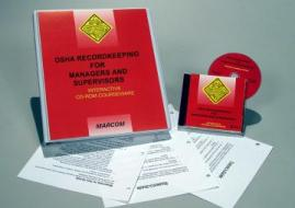 OSHA Recordkeeping for Managers and Supervisors CD-ROM Course - MARCOM