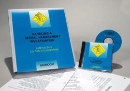 Handling A Sexual Harassment Investigation Interactive CD-ROM Course - MARCOM