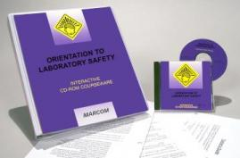 Orientation to Laboratory Safety CD-ROM Course - MARCOM