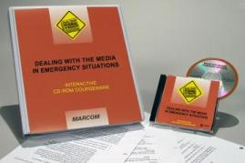 HAZWOPER Dealing with the Media in Emergency Situations CD-ROM Course - MARCOM