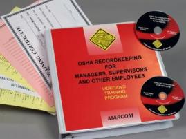 OSHA Recordkeeping for Managers, Supervisors and Employees DVD Package - Marcom