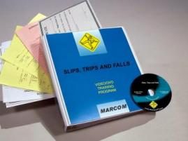 Slips, Trips and Falls DVD Program - Marcom