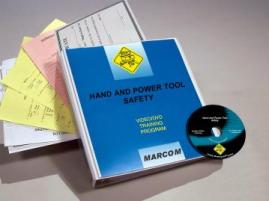 Hand and Power Tool Safety DVD Program - Marcom