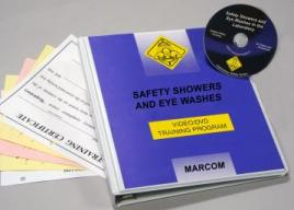 Safety Showers and Eye Washes in the Laboratory DVD Program - Marcom