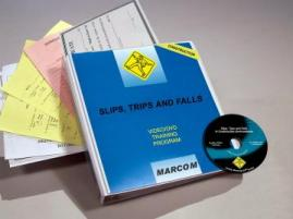 Slips Trips and Falls in Construction Environments DVD - MARCOM