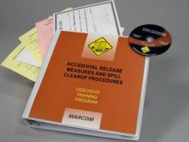 HAZWOPER Accidental Release and Cleanup Procedures DVD Program  - Marcom