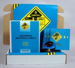Hazardous Materials Labels Safety Meeting Kit - Marcom - DVD