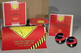 OSHA Recordkeeping for Managers, Supervisors and other Employees Regulatory Compliance Kit - Marcom -DVD