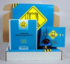 Computer Workstation Safety Safety Meeting Kit - Marcom -DVD