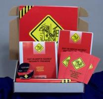 DOT HAZMAT In-Depth Security Training Regulatory Compliance Kit - Marcom -DVD
