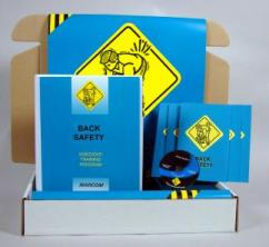 Back Safety Safety Meeting Kit - Marcom -DVD