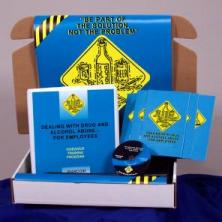 Dealing with Drug and Alcohol Abuse for Employees Safety Meeting Kit - Marcom - DVD