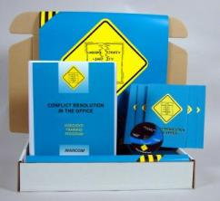 Conflict Resolution in the Office Safety Meeting Kit - Marcom -DVD