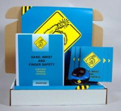 Hand, Wrist and Finger Safety Safety Meeting Kit - Marcom -DVD