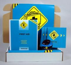 First Aid in Construction Environments Safety Kit - MARCOM - DVD