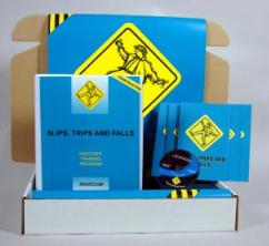 Slips Trips and Falls in Construction Environments Safety Kit - MARCOM - DVD