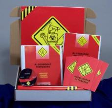 Bloodborne Pathogens in Healthcare Facility Regulatory Compliance Kit - Marcom -DVD
