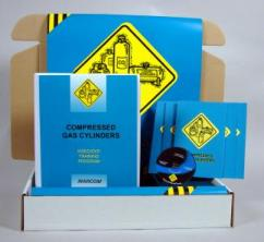 Compressed Gas Cylinders Safety Meeting Kit - Marcom -DVD