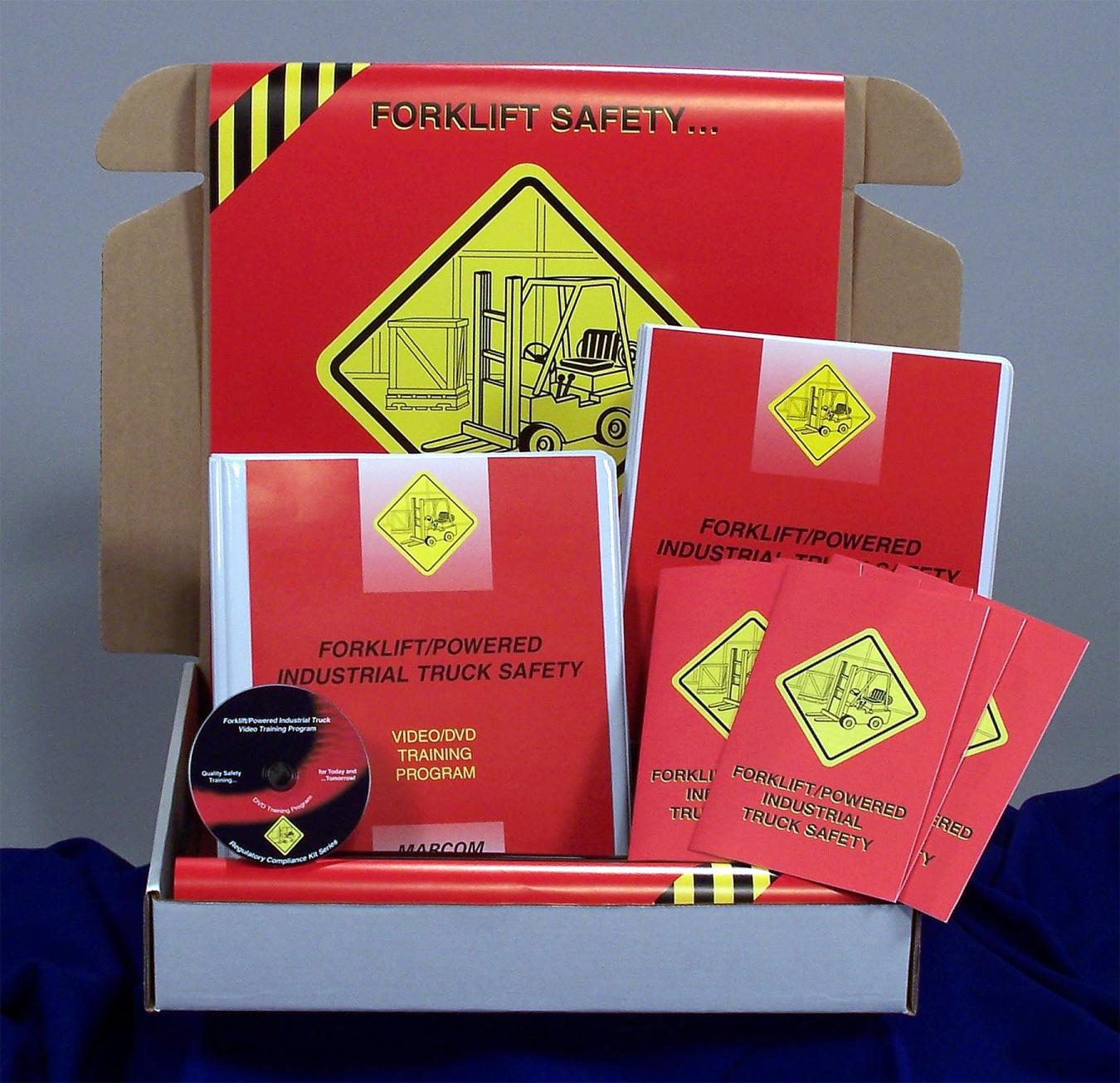 Forklift/Powered Industrial Truck Safety Regulatory Compliance Kit - Marcom - DVD
