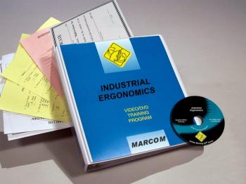 Industrial Ergonomics Safety Meeting Kit - Marcom -DVD