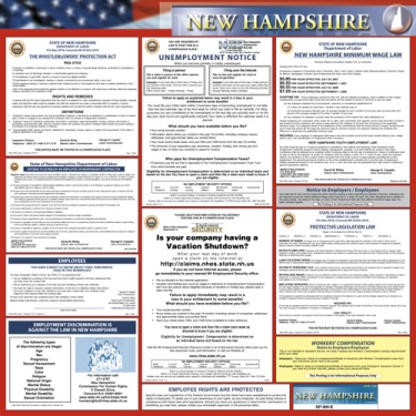 New Hampshire State Poster