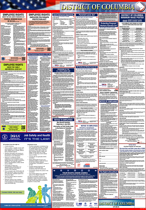 District of Columbia and Fed Combo Poster